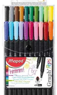 🚚 Maped Finepoint Graph Peps