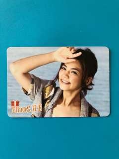 (包郵) 陳嘉樺 Yes卡 / Ella Yes Card