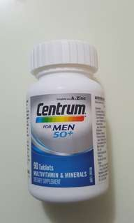 🚚 Centrum Men 50+ ( 90 tablets)