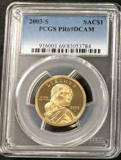 PCGS69DCAM美國紀念銅幣