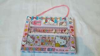 Stationery gift set hello kitty