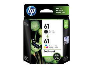 HP61 Combo Pack Ink Catridges