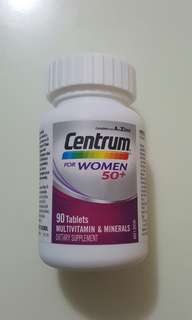 🚚 Centrum Woman 50+ ( 90 tablets)