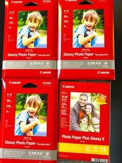 3+1 Canon Photo Paper