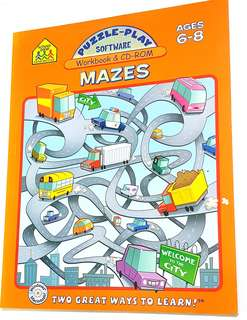 CD-ROM+Mazes Workbook