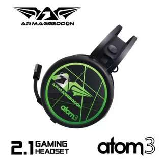 Armaggedon Atom 3 Headset With Mic