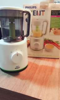 Philip Avent steamer & blender