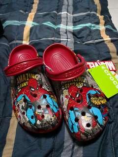 Crocs Spider Man Original Size 9 Men