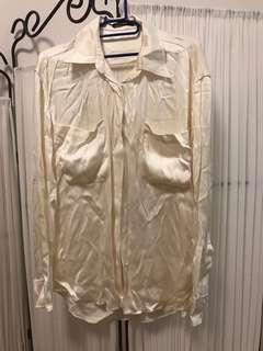 Balmain paris silk shirt top