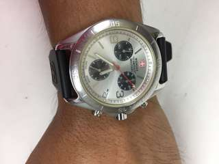 Wenger Chronograph Mens Watch