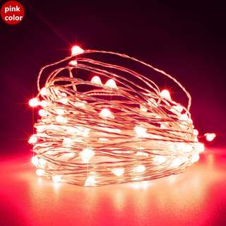 2 meter Battery-operated Mini LED copper wire fairy lights