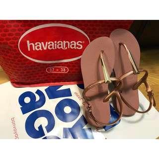 哈瓦仕 t字涼鞋 havaianas 2018新款