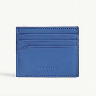 TED BAKER Sands rubber leather card holder