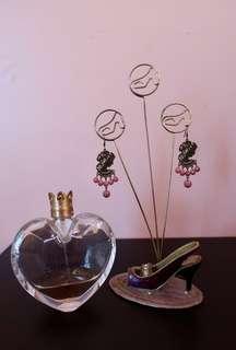 Gaz vintage dangling earrings | long earrings