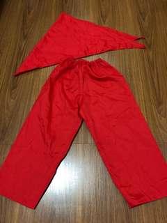 Red Pants with Bandana for Linggo ng Wika