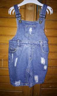 overall anak size 3-4 thn cewe cowo bisa