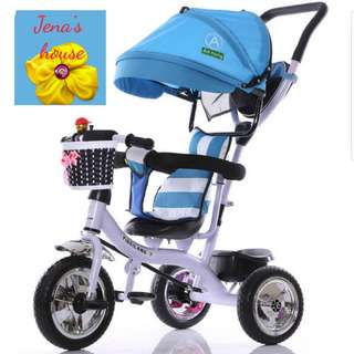 Instock Kid Tricycle / baby tricycle/ bike