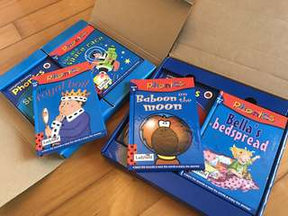 Phonics Storybook Collections 1&2 (2 box sets of 12 books)