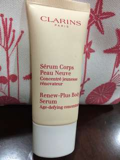 BN Clarins Renew-Plus Body Serum 30ml