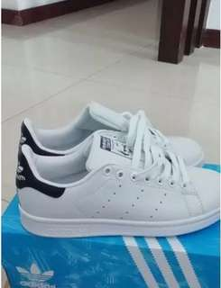 Adidas 鞋 Stan Smith 黑尾