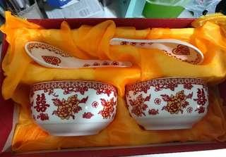 Wedding bowl set