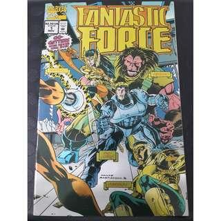 Fantastic Force #1 (1st app: Vibraxas)