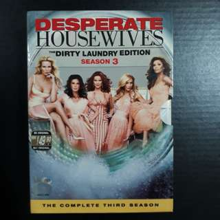 Desperate Housewives DVDs (Season 3)