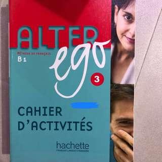 Alter Ego 3 cahier d'activités