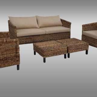 Sofa set rattan