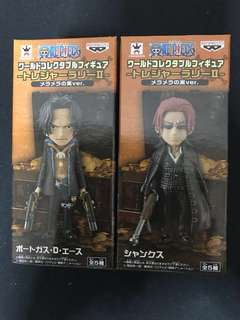 BOTH Shanks and Ace strong world wcf