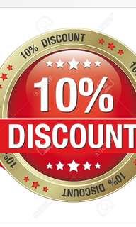 🚚 Storewide 10% discount