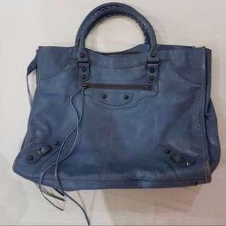 Balenciaga Classic Velo Blue