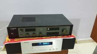 Solid state stereo amplifier