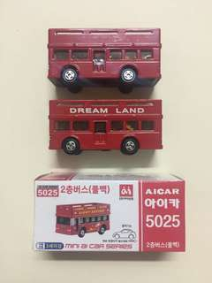Auldey 雙鑽牌 Bus 巴士 x 3