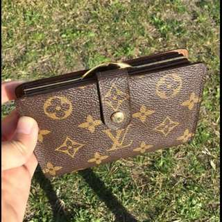 Original Louis Vuitton wallet VIENNOIS in monogram leather