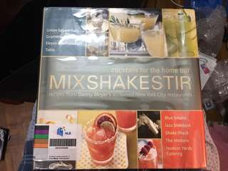 Books for making cocktails