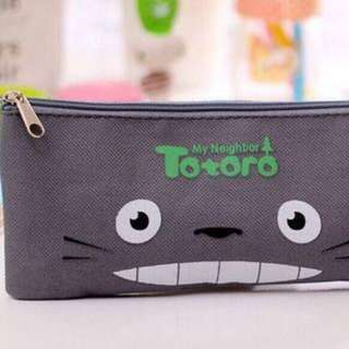 Totoro Canvas Fabric Pencil Case - New