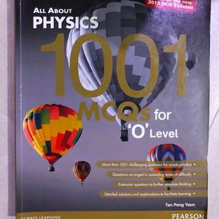 All about Physics 1001 MCQs for O level