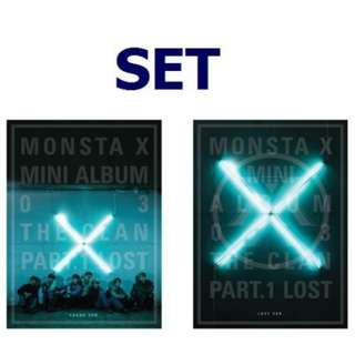 [PRE-ORDER] MONSTA X  THE CLAN 2.5 PART 1