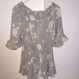 Gorgeous Off The Shoulder Playsuit