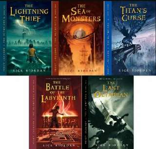 The Lightning Thief series (e-book)