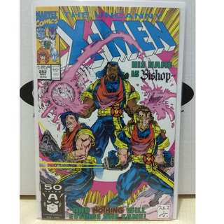 🚚 Uncanny X-men Vol. 1 #282 - 1st appearance of Bishop (cameo) and the X.S.E
