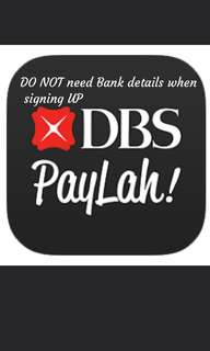 DBS PAYLAH FREE $5 NEW USER SIGNUP WITH MY REFERRAL CODE!