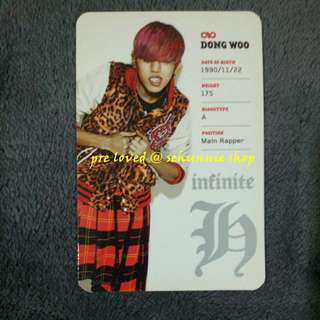 [WTS/WTT] INFINITE H DONGWOO FLY HIGH OFFICIAL PC