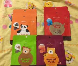 Korean animal masks