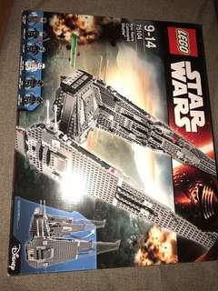 全新 Star Wars Lego 75104 Kylo Ren's commander shuttle