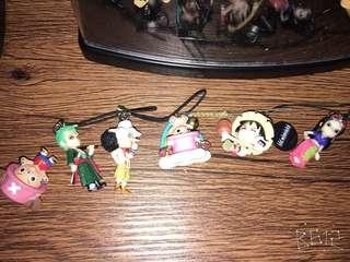 assorted one piece keychain 150/each