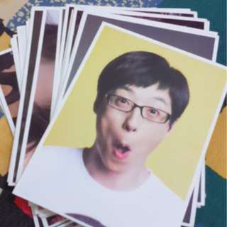 Running Man Postcards