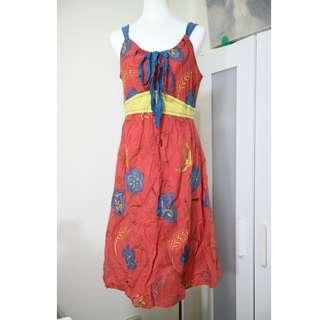 🚚 專櫃 巧玲瓏 貴婦 名媛 氣質度假 精緻美刺繡  長洋裝 洋裝 連身裙 長洋