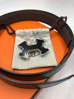 Hermes 特別版H 頭皮帶 可雙面使用 全新購自巴黎